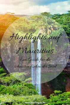 Botanische Gärten, einsame Inseln, magische Wasserfälle und blühende Nationalparks - Mauritius ist vielfältig und einfach wunderschön. Ich habe tolle Reiseinspirationen für euch zusammengestellt, die euch die Sehenswürdigkeiten auf Mauritius vorstellen.