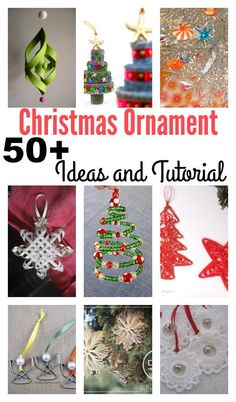 50 Creative DIY Christmas Ornament Ideas and Tutorial