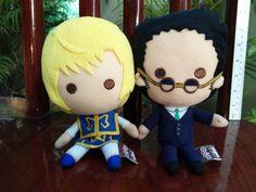 Hunter x Hunter KURAPIKA LEORIO Plush Doll Toy Japan Ichiban Kuji Banpresto F/S