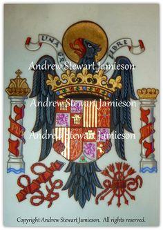 Fine Art, Photography, Coats of Arms, Heraldry, Heraldic Art & Illuminated Manuscripts by English Artist Andrew Stewart Jamieson