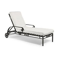 Frontgate Roma Chaise Lounge with Cushions