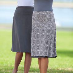 Quick Change Reversible Skirt - Acacia