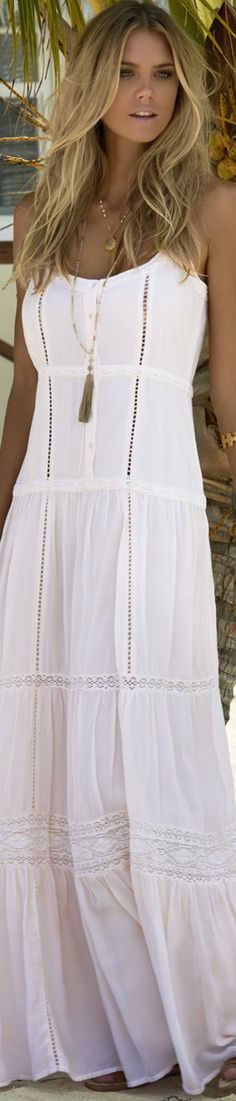 MELISSA ODABASH MOLLIE OVER-THE-SHOULDER LONG DRESS WHITE