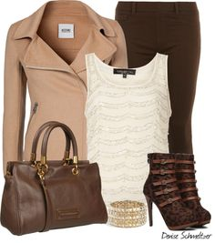 """Leopard Boots"" by denise-schmeltzer on Polyvore"