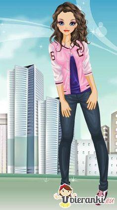 Dziewczyna z Jersey // http://www.ubieranki.eu/ubieranki/9890/dziewczyna-z-jersey.html