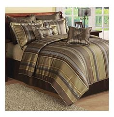 Luxury Wilson 8-pc. Comforter Set by Central Park