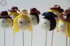 MakeUrCake - Western Cake Pops Cowboy Cowgirl