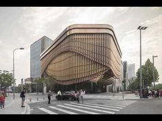 Heatherwick Studio and FosterPartners' Bund Finance Centre in Shanghai Photographed by Laurian Ghinitoiu | Netfloor USA