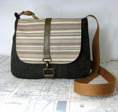 Montana  crossbody messenger bag // adjustable strap by atlaspast,