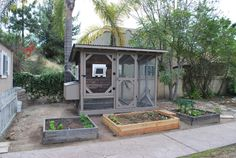 Reclaimed Wood Chicken Coops - San Diego Woodworks