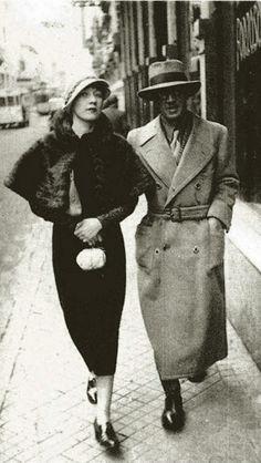 * Foujita et Kiki de Montparnasse, Paris, 1926 - photo Iwata Nakayama (1895-1949)