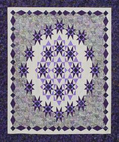 Starget - a great new pattern for those who are familiar with out tools. There are four used in this beautiful quilt.