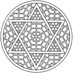 Difficult Mandala Coloring Pages | Free Adult Coloring Pages - Mandalas and More !