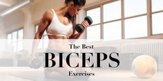 We all know that toned, svelte arms look good on every woman, but a lot of women tend to store more fat in the upper arms making that area look less defined and sometimes even loose. To sculpt lean, sexy upper arms you need to start training your biceps and triceps regularly. Pair the following 10 biceps exercises with our top 10 triceps moves, grab a set of dumbbells and say goodbye to flabby arms!