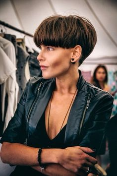 Most current Free Extra short bob on dark hair, strong mushroom . Suggestions Who invented the Bob hairstyle? Bob has b : Most current Free Extra short bob on dark hair, s Short Wedge Haircut, Short Wedge Hairstyles, Short Hairstyles For Women, Straight Hairstyles, Hairstyle Short, Hairstyles 2016, Pixie Cuts, Short Pixie, Short Hair Cuts