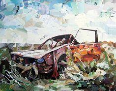 Collage Artworks by Patrick Bremer   Inspiration Grid   Design Inspiration