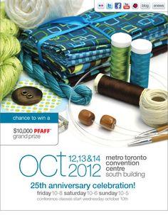 Craft Event: Creativ Festival – Fall 2012 (Canada)