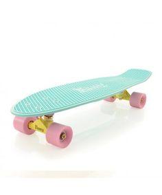 "Penny Skateboards USA Penny Nickel Pastel Mint 27"" Original Plastic Skateboard"