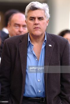 Jay Leno during Celine Dion Honored with a Star on the Hollywood Walk of Fame…