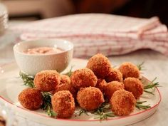 "Crispy Turkey Bites (Thanksgiving Brunch) - Giada De Laurentiis, ""Giada's Holiday Handbook"" on the Food Network."