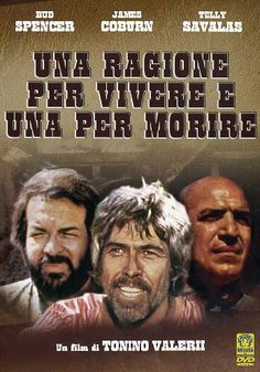 un gruppo di 7 uomini viene salvato dalla forca un attimo prima che gli si spalanchi la botola sotto i piedi e viene ingaggiato per una missione suicida; se riusciranno nell'impresa saranno considerati liberi. Bud Spencer, Terence Hill, Western Movies, Le Far West, Mario, Illustrations And Posters, Westerns, Passion, Actors