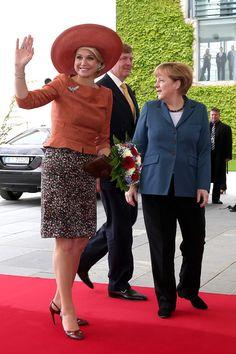 Queen Maxima Photos - King Willem-Alexander Meets with Joachim Gauck - Zimbio