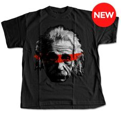 Einstein Warrior Paint T-Shirt