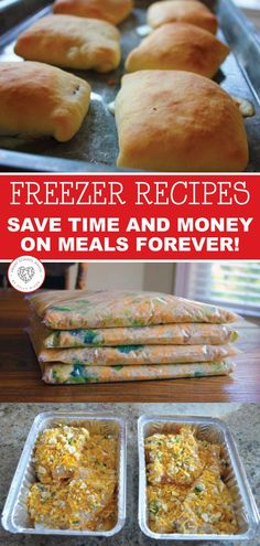 Ahead Freezer Meals Make Ahead Freezer Meals - homemade recipes and ideas to save time and money.Make Ahead Freezer Meals - homemade recipes and ideas to save time and money. Budget Freezer Meals, Make Ahead Freezer Meals, Freezer Cooking, Frugal Meals, Easy Meals, Inexpensive Meals, Freezable Meals, Cooking Tips, Pioneer Woman Freezer Meals