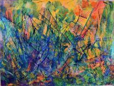 "Saatchi Art Artist Nestor Toro; Painting, ""All around you"" #art"