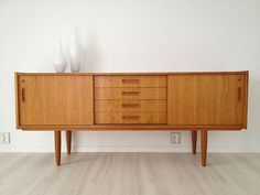 Diy Furniture, Furniture Design, Wooden Chest, Nordic Design, Credenza, My Dream Home, Interior Inspiration, Teak, Indoor