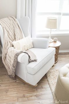 Rocking Chairs For Baby Room Best Chair To Use After Back Surgery 26 Nursery Images Decor Child Weathered And Neutral Update Armchair Recliner