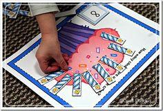 preschool Birthday theme activities