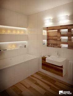 Ktoś jeszcze wątpi w ciepło bijące ze Skandynawii? Te łazienki zaprojektowano właśnie po to, aby umilić często długie noce i chłód za oknem. Połączenie bieli z drewnem jest przyjazne, wygląda czarująco. Uzupełniając wystrój o dodatkowe świeczki, stworzyliśmy atmosferę, którą ciężko przebić. Chętnie wylądujemy tam na długie godziny i skupimy się wyłącznie na relaksie, nie myśląc o niczym innym. Cudowna sprawa! #dom #mieszkanie #skandynawia ##łazienka #toaleta ##zlew ##ceramiczny