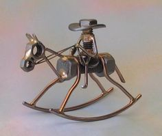 The Pack Rats [3037] ROCKING HORSE COWBOY