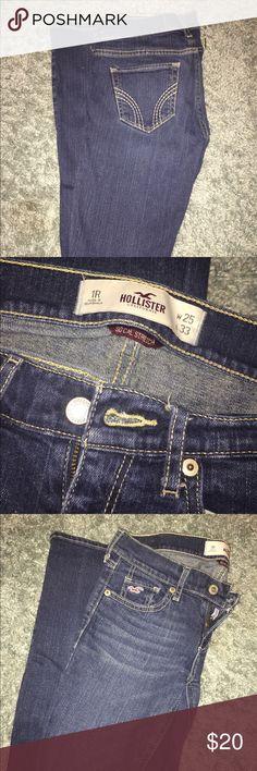 "Size 1 Hollister jeans. Social stretch Size 1 ""social stretch"" Hollister jeans Hollister Jeans Skinny"