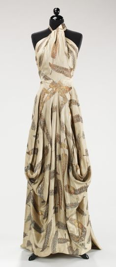 .Gown by Vionnet from the personal wardrobe of Countess Mona Von Bismarck …