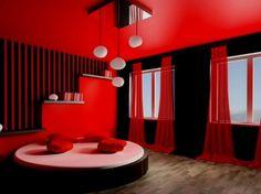 bedroom color schemesbedroom colorsred - Bedroom Color Red