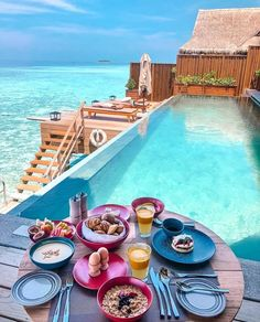 In a picturesque island where you have countless resorts going out of their way to make their mark, Joali Maldives. Vacation Places, Vacation Destinations, Dream Vacations, Honeymoon Places, Vacation Deals, Visit Maldives, Maldives Travel, Maldives Resort, Maldives Beach