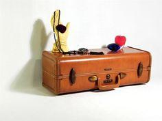 Vintage Suitcase Shelf - on etsy