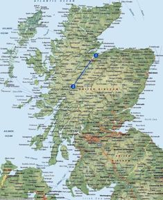 """""""Mapping Locations in Outlander"""" -- This is a thread on """"Outlander Book Club"""" that didn't get very far, but was interesting about putting real distances in perspective; also has some other good links."""
