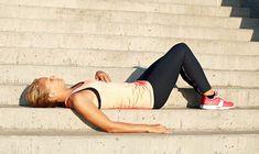 Charlotte Bircow favoritøvelser til mave, balder og lår Weight Loss Diet Plan, Weight Loss Goals, Lose Stomach Fat Workout, Healthy Food To Lose Weight, Healthy Eating, Childhood Obesity, Running Motivation, Squat Motivation, Half Marathon Training