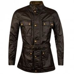 Belstaff Black Roadmaster Motorcycle Jacket. Available now at www.brother2brother.co.uk