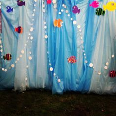 Made the marquee just like an underwater adventure