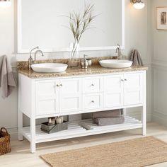 Denisse On Bathroom Double Vanity Ideas