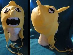 Adventure Time with Jake and Finn LEMONGRAB Hat by IzzysCreation