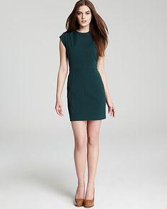 Theory Cap Sleeve Dress - Orinthia | Bloomingdale's