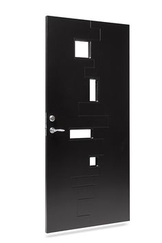 Svart ytterdør Character Pulse fra Swedoor Lockers, Locker Storage, Glass, Character, Design, Home Decor, Modern, Decoration Home, Drinkware