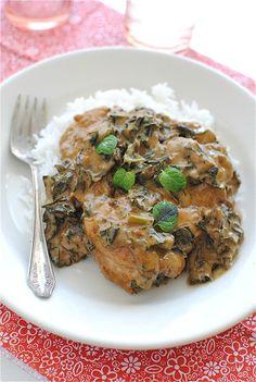 Coconut Tandoori Chicken with Rice / Bev Cooks