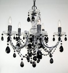 "23"" high Chandelier Bedroom, Black Chandelier, Ceiling Lights, Lighting, Gallery, Beautiful, Store, Home Decor, Ideas"