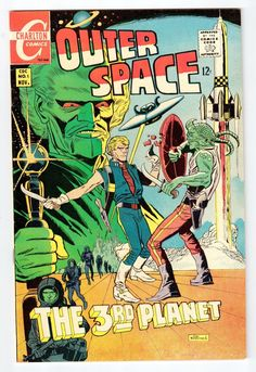 Charlton Comics Outer Space Vol 2 1 Nov 1968 Vintage Comic VF NM Condition | eBay